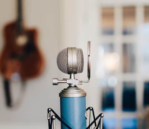 Podcasting Microphone.