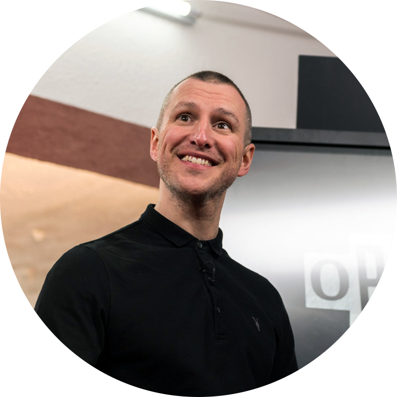 Adam Catterall profile image, Pods Up North guest speaker.