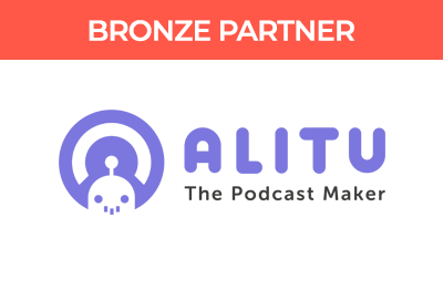 Pods Up North Bronze Partner, Alitu The Podcast Maker.