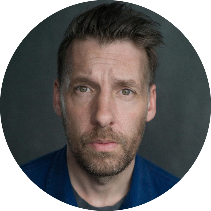 Craig Parkinson, Actor and host of Two Shot Pod and guest speaker at Pods Up North.